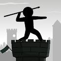 Epic Stickman Knight Hero Fighting: Javelin Tower icon