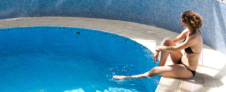 Heated pool and Spa Hotel Antequera