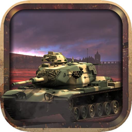 动作のナイトタンクアサルト砂漠戦争 LOGO-記事Game