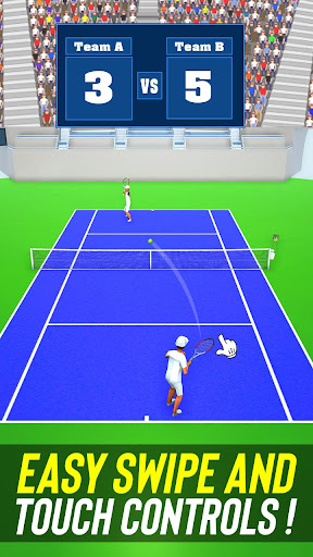 Tennis Fever 3D: Free Sports Games 2020 android2mod screenshots 23