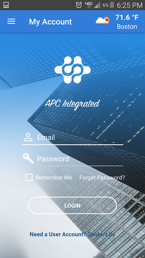 APC Integrated- screenshot