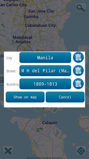 Map of Philippines offline screenshots 3
