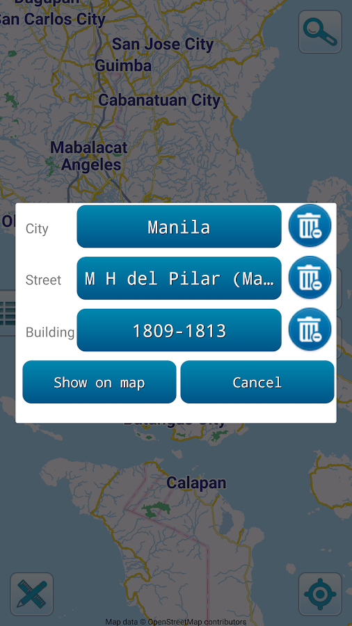 Map of Philippines offline  Android Apps on Google Play