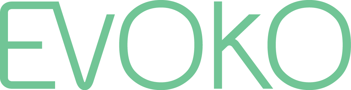 Evoko logo transparant
