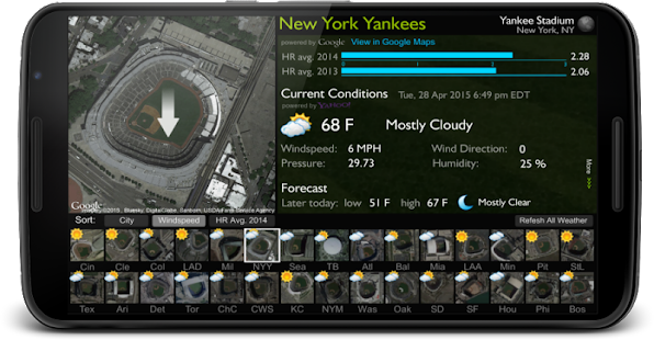 Ballpark Analyzer- screenshot thumbnail