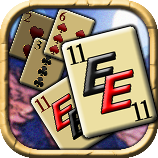 Eleven Extreme, Free Arcade Solitaire Game Card