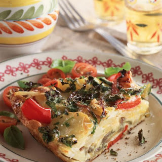 Spanish Style Omelette with Vegetables