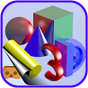 Simple 3D Shapes Objects Games