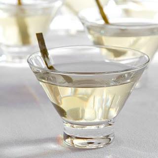 Kombu Seaweed Martini.