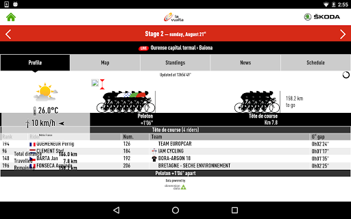 玩免費運動APP|下載Vuelta a España 2016, by ŠKODA app不用錢|硬是要APP