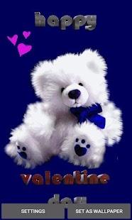 Valentine Teddy LWP - náhled