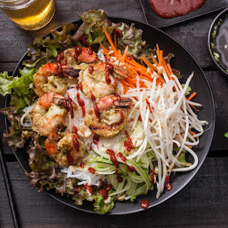 Vietnamese Grilled Shrimp Salad