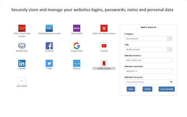bondarPass Password Manager