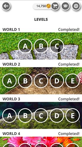 Garden of Words - Word game Android App Screenshot