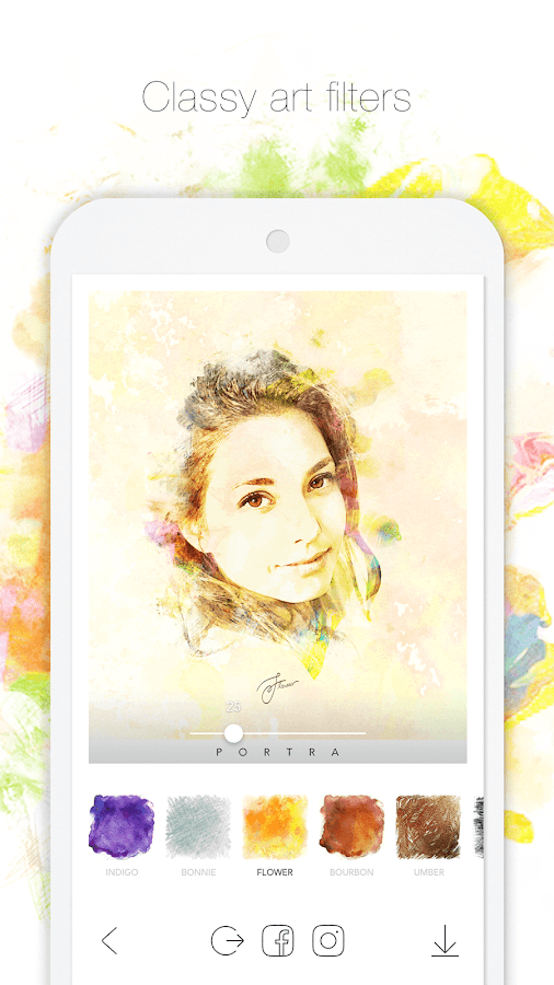 PORTRA – Stunning art filter- screenshot