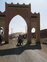 Photo: Bordering on the Erg Chebbi, the frontier town of Merzouga exits only for tourists