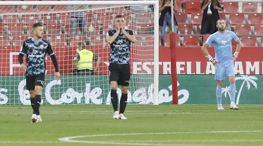 Girona 3 - Almería 0: el sueño del ascenso se vuelve pesadilla