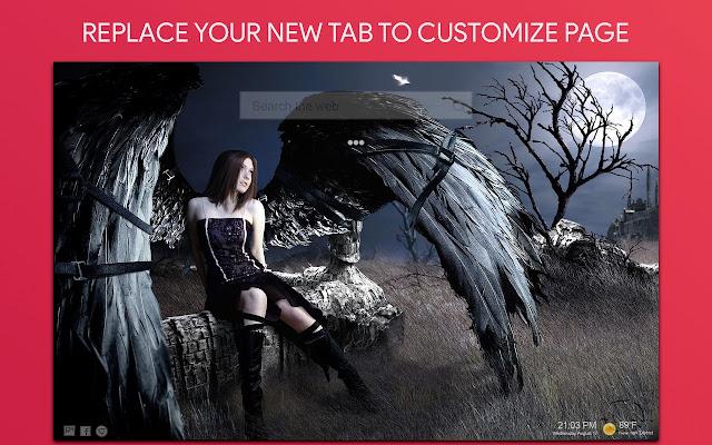 Angel Wallpaper HD Custom New Tab