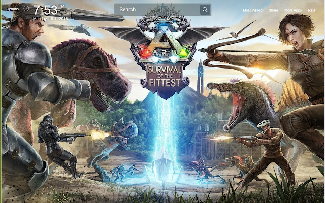 ARK Survival Evolved Wallpapers Theme New Tab