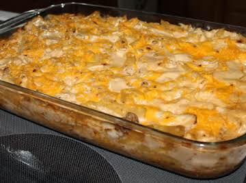 Chipotle Chicken Pasta Bake