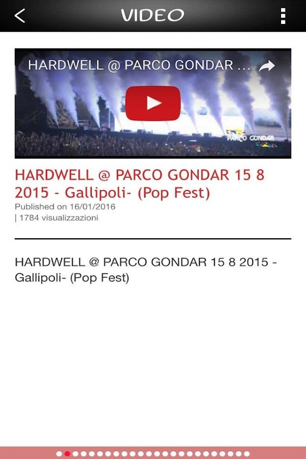 PARCO GONDAR- screenshot