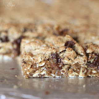 Salty Oatmeal Chocolate Chip Bars