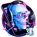 DJ Skull & Rock Music Theme icon