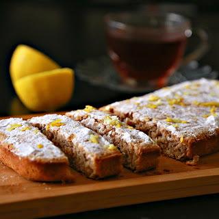 Candid Ginger & Lemon Early Grey Tea Cake