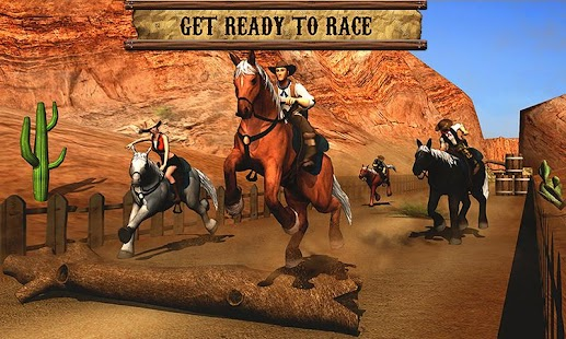 Texas Wild Horse Race 3D Imagen do Jogo