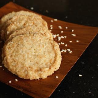 Sally's Sesame Cookies.