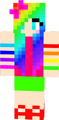 A colorfull skin,