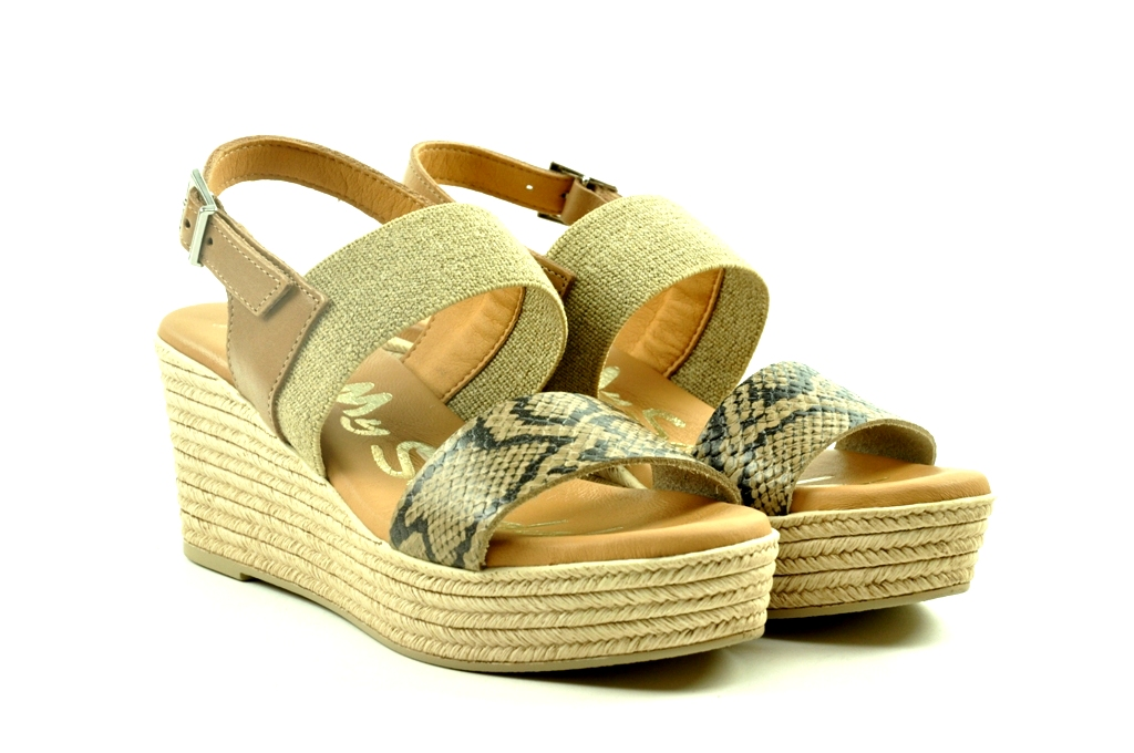 oh my sandals 4592 taupe
