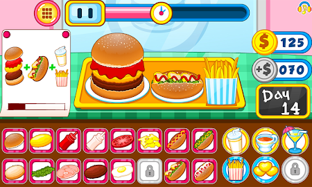 Burger shop fast food 1.0.5 screenshot 2088676