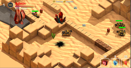 Block Tank Wars 3 1.19 screenshots 24