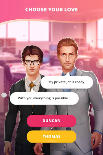 Love & Diaries : Duncan - Romance Interactive 3.3.68 screenshots 2