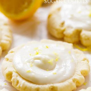 Lemon 'Swig' Sugar Cookies with Lemon Cream Cheese Frosting.