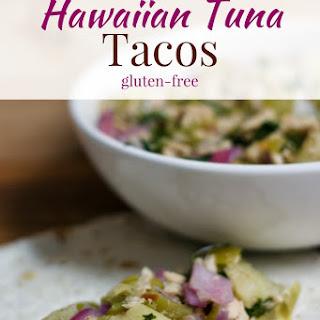 Hawaiian Tuna Tacos.