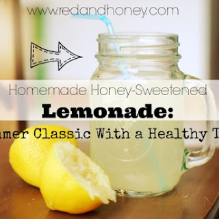 Homemade Honey-Sweetened Lemonade