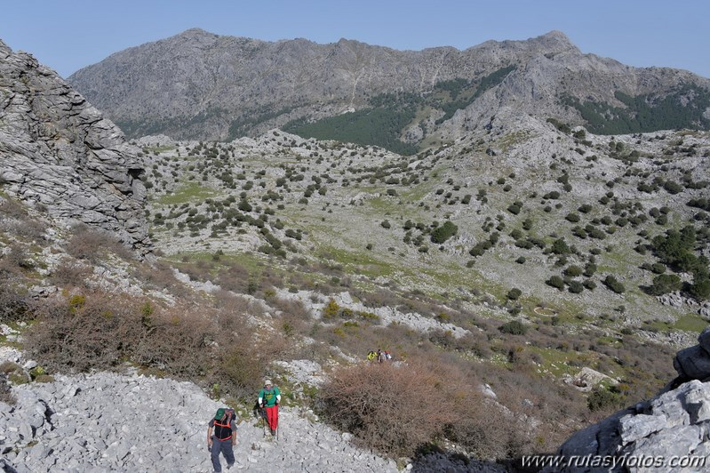 Grazalema - Simancón - Reloj - Caillo - Villaluenga