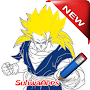 Best Son Goku Drawing Skets Technique APK icon