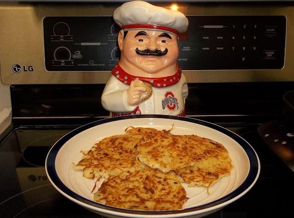 Potato Vegetable Pancakes Recipe