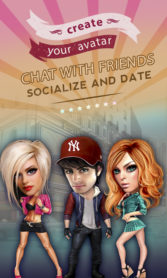Galaxy - Chat & Play- screenshot