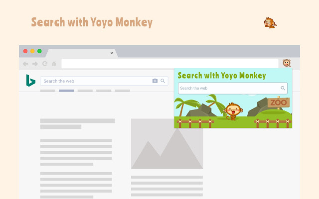 Search with Yoyo Monkey