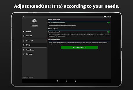 Readout Tts Read Aloud Text To Speech �� Apps On