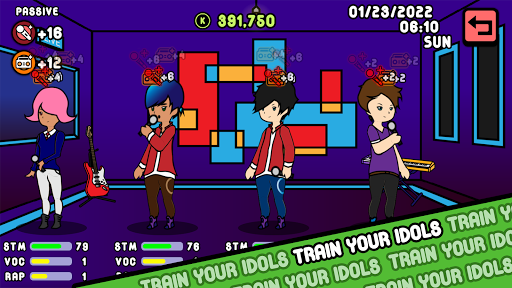 KPOP Story: Idol Manager 0.0.13 {cheat|hack|gameplay|apk mod|resources generator} 1