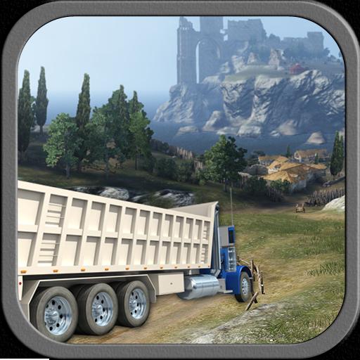 模拟の山の貨物トラックを運転 LOGO-記事Game