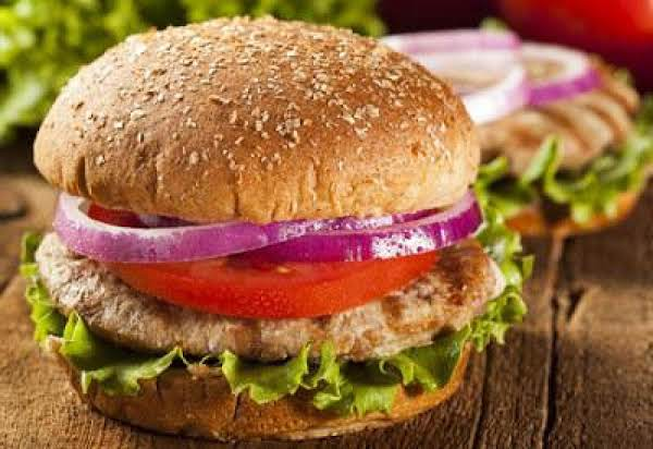Zesty Turkey Burgers Recipe