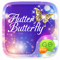 GO SMS FLUTTER BUTTERFLY THEME icon