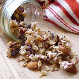 White Chocolate Peppermint Granola
