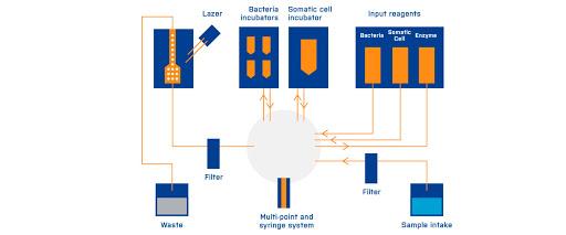 Проточная система BacSomatic™